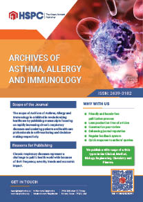 Archives of Asthma, Allergy and Immunology | HSPC