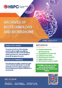 Archives of Biotechnology and Biomedicine