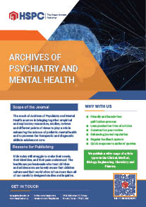 Archives of Psychiatry and Mental Health