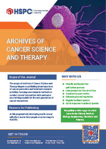 Archives of Cancer Science and Therapy