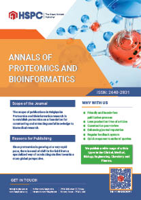 Annals of Proteomics and Bioinformatics