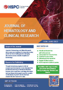 Journal of Hematology and Clinical Research