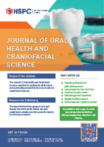 Journal of Oral Health and Craniofacial Science | HSPC