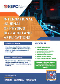 International Journal of Physics Research and Applications