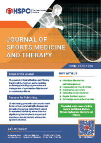 Journal of Sports Medicine and Therapy | HSPC