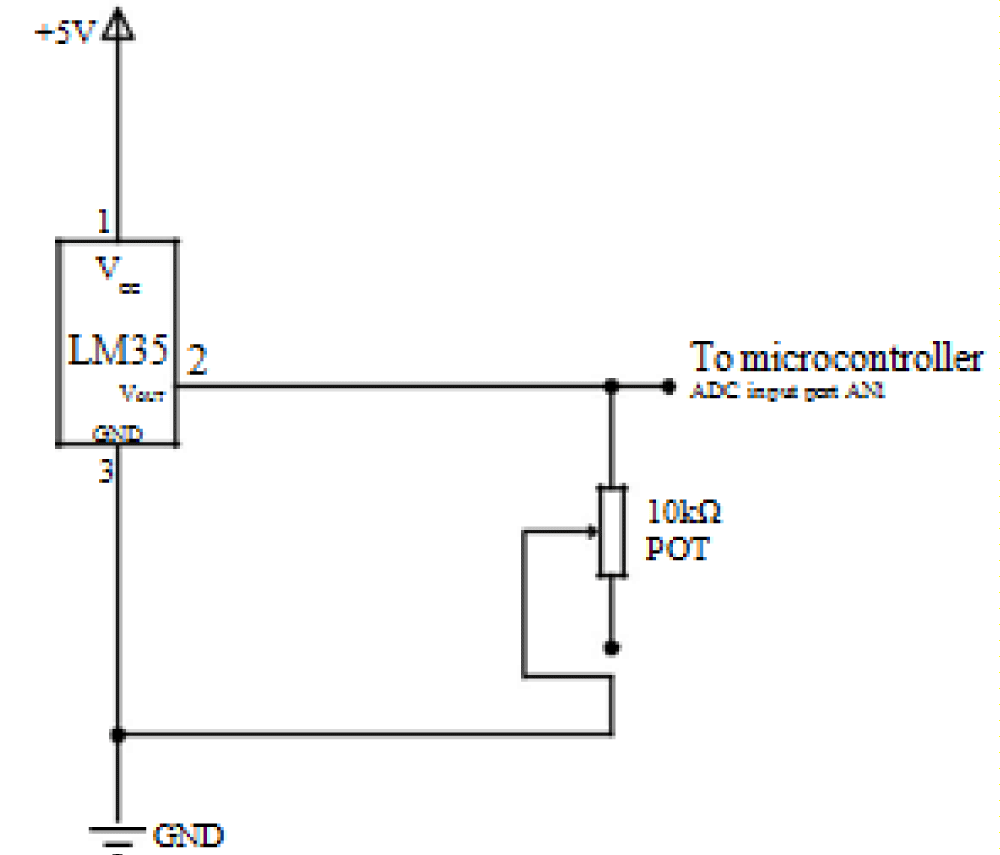 Automatic Control And Protection Of Coal Conveyor System Using Pic Temperature Sensor Circuit Diagram Figure 3 Sensing
